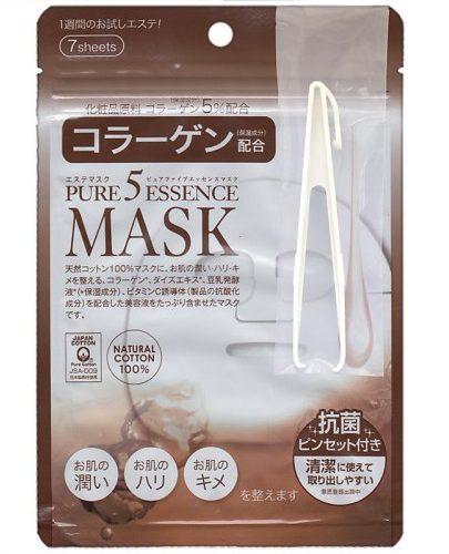 Japan Gals Маска с коллагеном Pure 5 Essential 7 шт (Pure5)