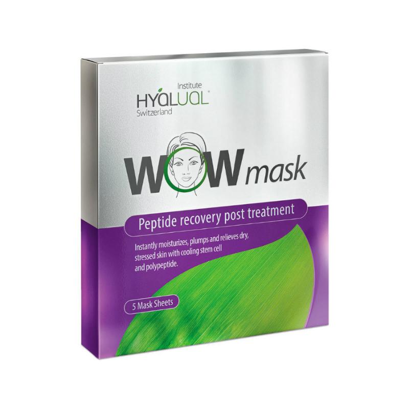 WOW Mask Гидрогелевая пептидная маска 1 уп. (5 штук)