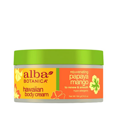 Hawaiian Body Cream. Rejuvenating Papaya Mango (Объем 184 г)