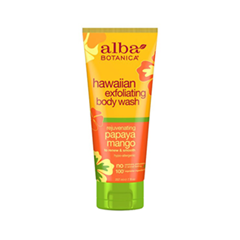 Hawaiian Exfoliating Body Wash. Rejuvenating Papaya Mango (Объем 207 мл)