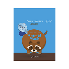 Animal Mask Placenta+Adenosine - Racoon (Объем 25 мл)