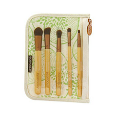 Bamboo 6 Piece Eye Brush Set