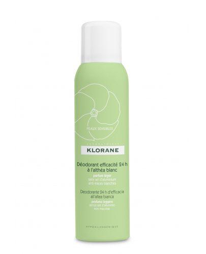 Дезодорант-спрей с белым алтеем 24ч эффективности для чувствительной кожи 125 мл (Deodorant)