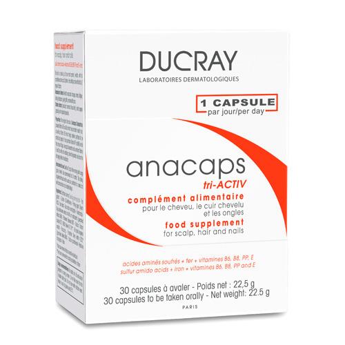 Анакапс три-Актив для волос и кожи головы №30 (Anacaps)
