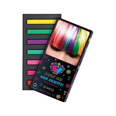 Набор цветных мелков для волос