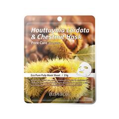 Houttuynia Cordata & Chestnut Husk Mask Sheet (Объем 23 г)