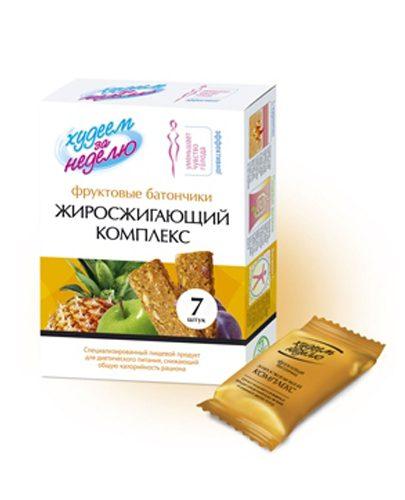 """Батончик фруктовый """"Жиросжигающий комплекс"""" 70г (Десерты)"""