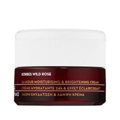 Wild Rose 24-Hour Moisturizing & Brightening Cream for Oily Combination Skin (Объем 40 мл)