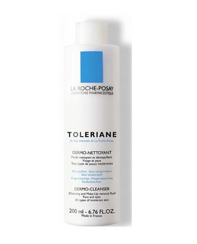 Молочко очищающее для сухой и обезвоженной чувствительной кожи Толеран (Toleriane)