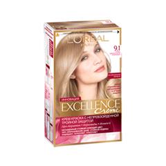 Excellence 9.1 (Цвет 9.1 Очень светло-русый пепельный)