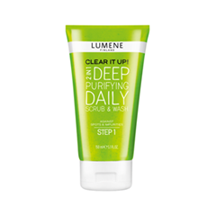 Deep Purifying Daily Scrub & Wash. Clear It Up! (Объем 150 мл)