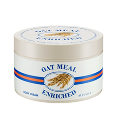 Oat Meal Enriched Body Cream (Объем 390 мл)