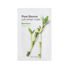 Pure Source Cell Sheet Mask Bamboo (Объем 21 г)