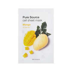 Pure Source Cell Sheet Mask Mango (Объем 21 г)