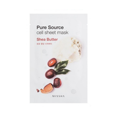 Pure Source Cell Sheet Mask Shea Butter (Объем 21 г)