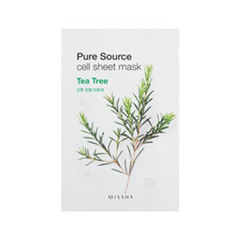 Pure Source Cell Sheet Mask Tea Tree (Объем 21 г)