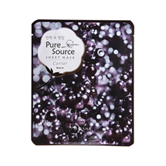 Pure Source Sheet Mask Caviar (Объем 21 г)