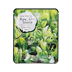 Pure Source Sheet Mask Green Tea (Объем 21 г)