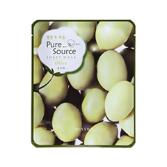 Pure Source Sheet Mask Olive (Объем 21 г)
