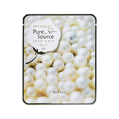 Pure Source Sheet Mask Pearl (Объем 21 г)