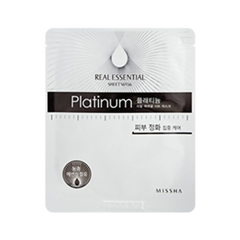 Real Essential Sheet Mask Platinum (Объем 25 г)