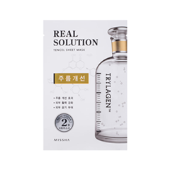 Real Solution Tencel Sheet Mask Wrinkle Caring (Объем 25 г)
