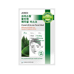 Junico Crystal All-in-one Facial Mask Aloe (Объем 25 г)
