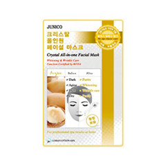 Junico Crystal All-in-one Facial Mask Argan (Объем 25 г)