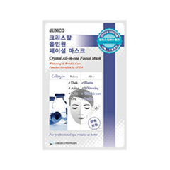 Junico Crystal All-in-one Facial Mask Collagen (Объем 25 г)