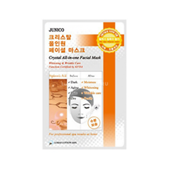 Junico Crystal All-in-one Facial Mask Hyaluronic (Объем 25 г)