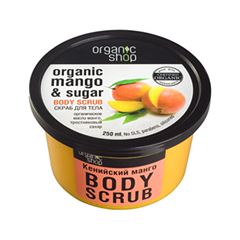 Organic Mango & Sugar Body Scrub (Объем 250 мл)