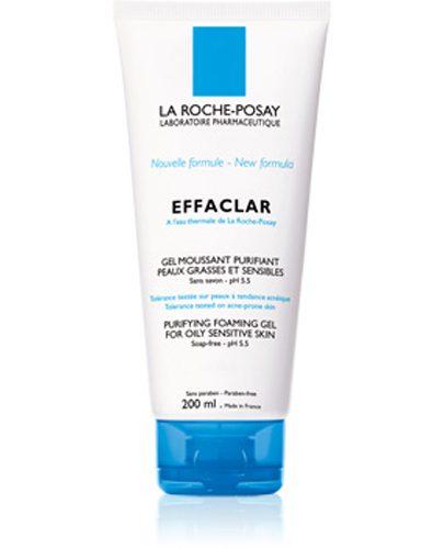 Гель очищающий пенящийся для комбинированной жирной и проблемной кожи Эфаклар 200 мл (Effaclar)