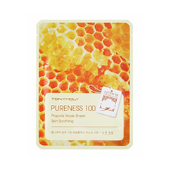 Pureness 100 Propolis Mask Sheet (Объем 21 мл)