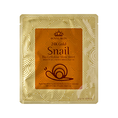 24K Gold Snail Bio Cellulose Mask Sheet (Объем 35 мл)