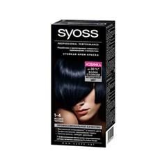 Syoss Color 1-4 (Цвет 1-4 Иссиня-черный )