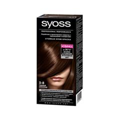 Syoss Color 3-8 (Цвет 3-8 Темный шоколад)