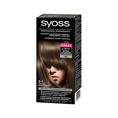 Syoss Color 5-1 (Цвет 5-1 Светло-каштановый )