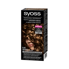 Syoss Color 5-8 (Цвет 5-8 Ореховый светло-каштановый )