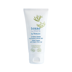 Vital Cream with Organic Olive Leaf. Terre & Mer (Объем 50 мл)