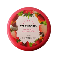 Hand & Body Shiffon Strawberry Cream (Объем 100 мл)