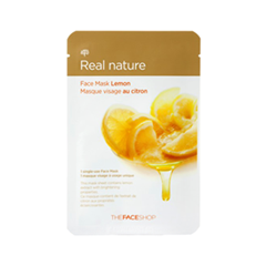 Real Nature Mask Sheet Lemon