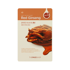 Real Nature Mask Sheet Red Ginseng (Объем 20 мл)