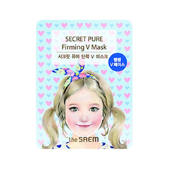 Маска для зоны подбородка Secret Pure Firming V Mask (Объем 21 г)