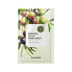 Natural Olive Mask Sheet (Объем 21 мл)
