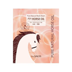 Pure Natural Mask Sheet Horse Oil (Объем 22 мл)