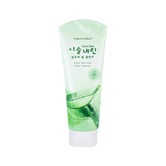 Clean Dew Aloe Foam Cleanser (Объем 180 мл)