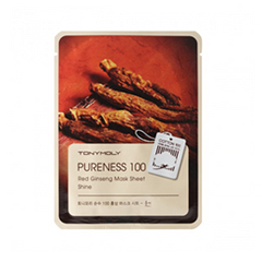 Pureness 100 Red Ginseng Mask Sheet (Объем 21 мл)