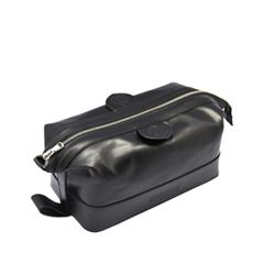 Gentleman`s Wash Bag Black (Цвет Black)